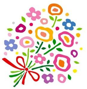 餞別のプレゼント 花束